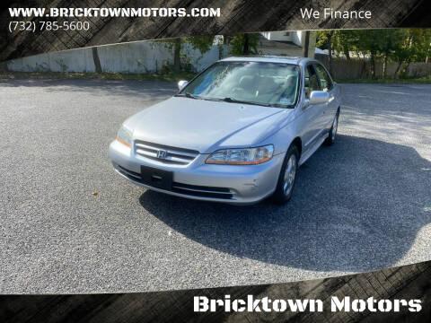 2002 Honda Accord for sale at Bricktown Motors in Brick NJ