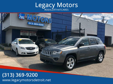 2012 Jeep Compass for sale at Legacy Motors in Detroit MI