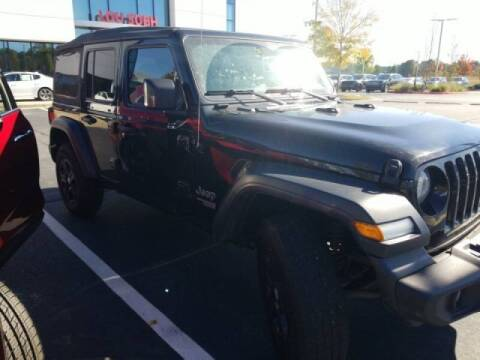 2019 Jeep Wrangler Unlimited for sale at Southern Auto Solutions - Georgia Car Finder - Southern Auto Solutions - Lou Sobh Kia in Marietta GA