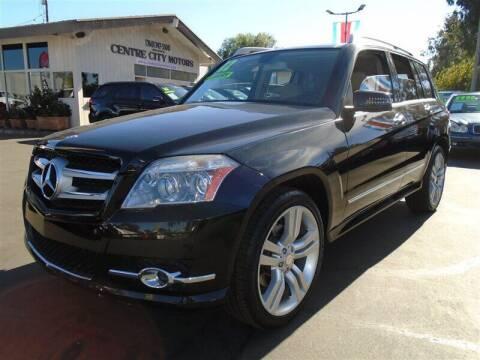 2012 Mercedes-Benz GLK for sale at Centre City Motors in Escondido CA