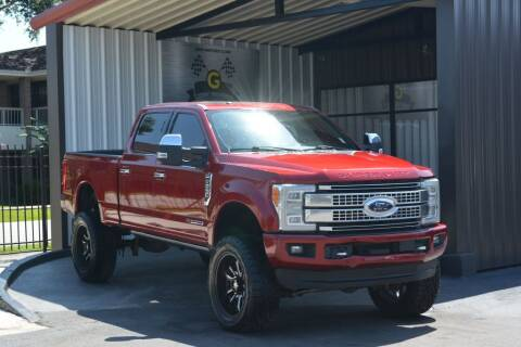 2017 Ford F-250 Super Duty for sale at G MOTORS in Houston TX