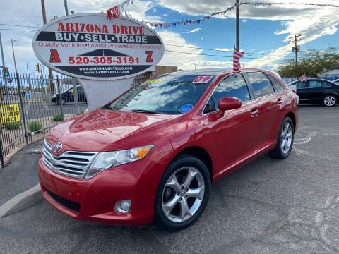2009 Toyota Venza for sale at Arizona Drive LLC in Tucson AZ