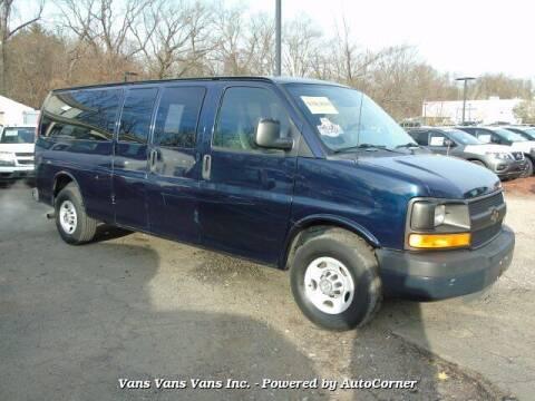 2011 Chevrolet Express Passenger for sale at Vans Vans Vans INC in Blauvelt NY