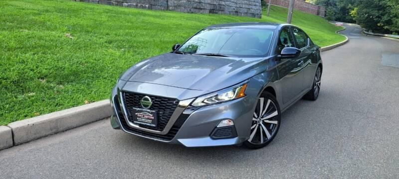 2021 Nissan Altima for sale at ENVY MOTORS LLC in Paterson NJ