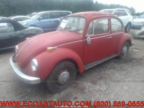 1971 Volkswagen Super Beetle for sale at East Coast Auto Source Inc. in Bedford VA