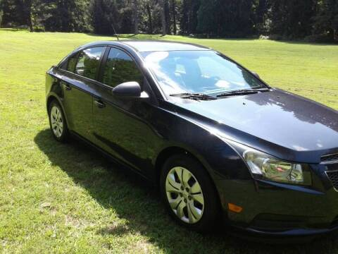 2014 Chevrolet Cruze for sale at ELIAS AUTO SALES in Allentown PA
