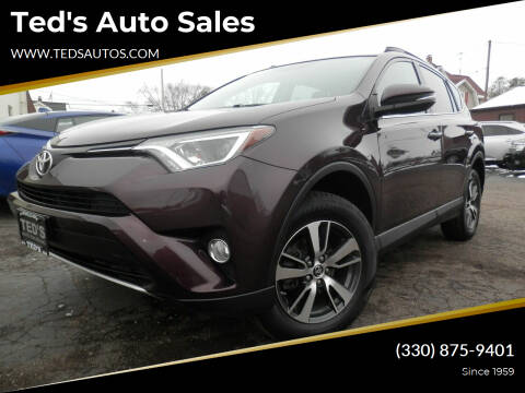 2016 Toyota RAV4 for sale at Ted's Auto Sales in Louisville OH