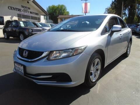 2013 Honda Civic for sale at Centre City Motors in Escondido CA