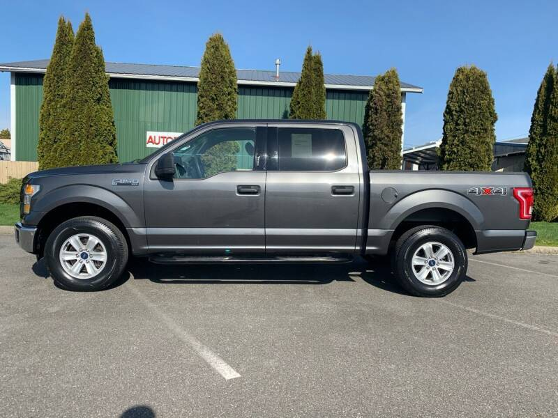 2015 Ford F-150 for sale at AUTOTRACK INC in Mount Vernon WA