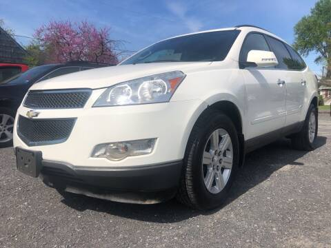 2012 Chevrolet Traverse for sale at Action Automotive Service LLC in Hudson NY