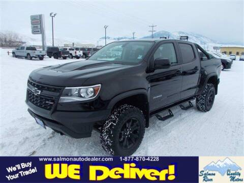 2018 Chevrolet Colorado for sale at QUALITY MOTORS in Salmon ID