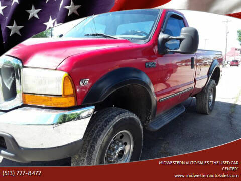 "2000 Ford F-250 Super Duty for sale at MIDWESTERN AUTO SALES        ""The Used Car Center"" in Middletown OH"