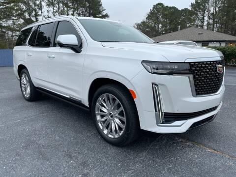 2021 Cadillac Escalade for sale at Glamorous Motors in Woodstock GA
