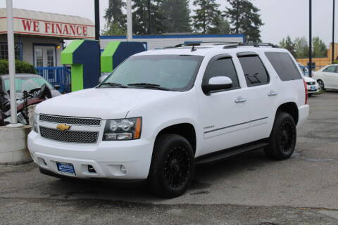 2012 Chevrolet Tahoe for sale at BAYSIDE AUTO SALES in Everett WA