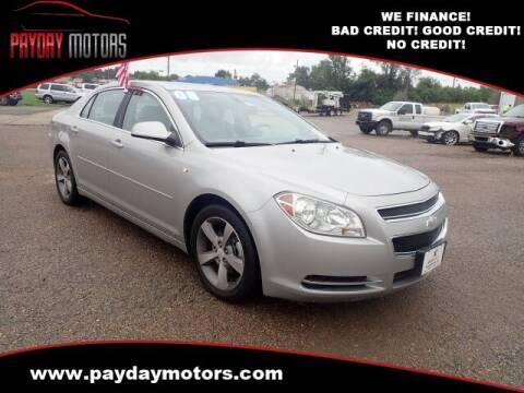 2008 Chevrolet Malibu for sale at Payday Motors in Wichita KS