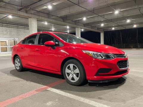 2017 Chevrolet Cruze for sale at Issaquah Autos in Issaquah WA