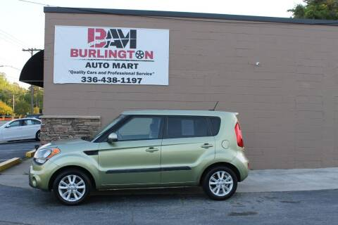 2013 Kia Soul for sale at Burlington Auto Mart in Burlington NC