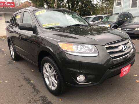 2012 Hyundai Santa Fe for sale at Alexander Antkowiak Auto Sales in Hatboro PA