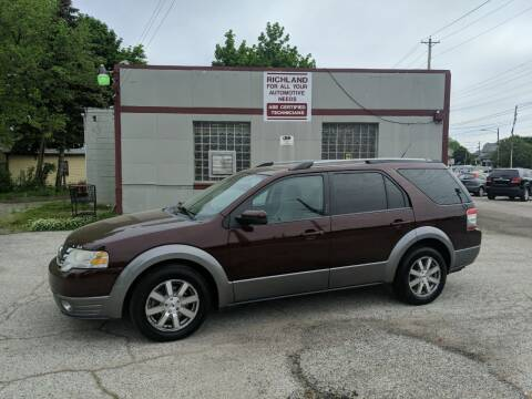 2009 Ford Taurus X for sale at Richland Motors in Cleveland OH