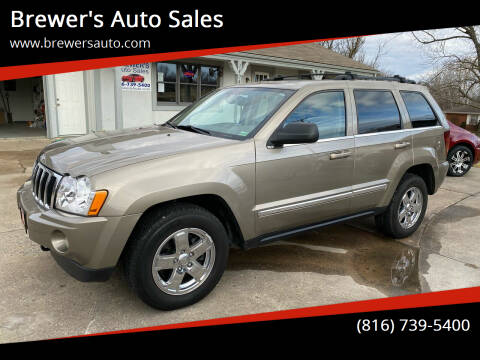2005 Jeep Grand Cherokee for sale at Brewer's Auto Sales in Greenwood MO