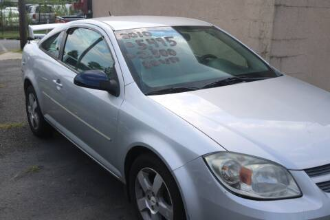 2010 Chevrolet Cobalt for sale at Urglavitch Auto Sales of NJ in Trenton NJ