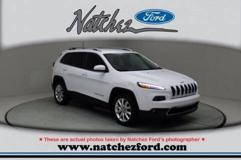 2017 Jeep Cherokee for sale at Auto Group South - Natchez Ford Lincoln in Natchez MS