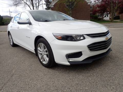 2016 Chevrolet Malibu for sale at Marvel Automotive Inc. in Big Rapids MI
