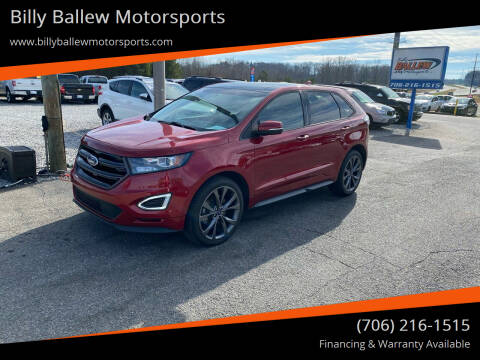 2016 Ford Edge for sale at Billy Ballew Motorsports in Dawsonville GA