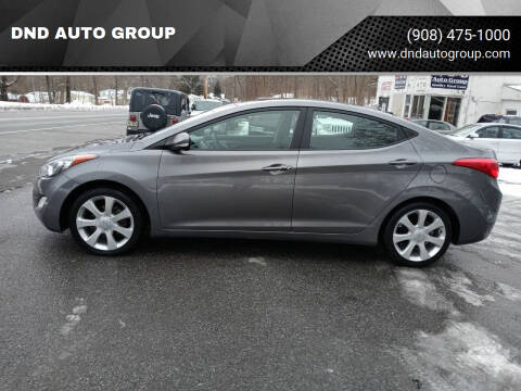 2012 Hyundai Elantra for sale at DND AUTO GROUP in Belvidere NJ