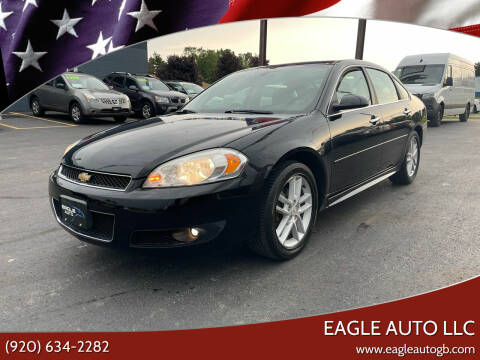 2012 Chevrolet Impala for sale at Eagle Auto LLC in Green Bay WI