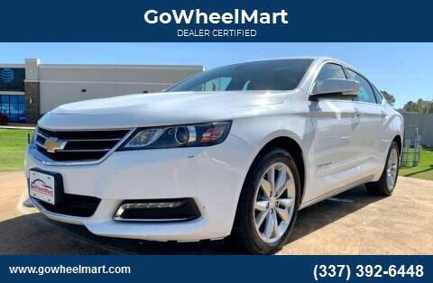 2018 Chevrolet Impala for sale at GoWheelMart in Leesville LA
