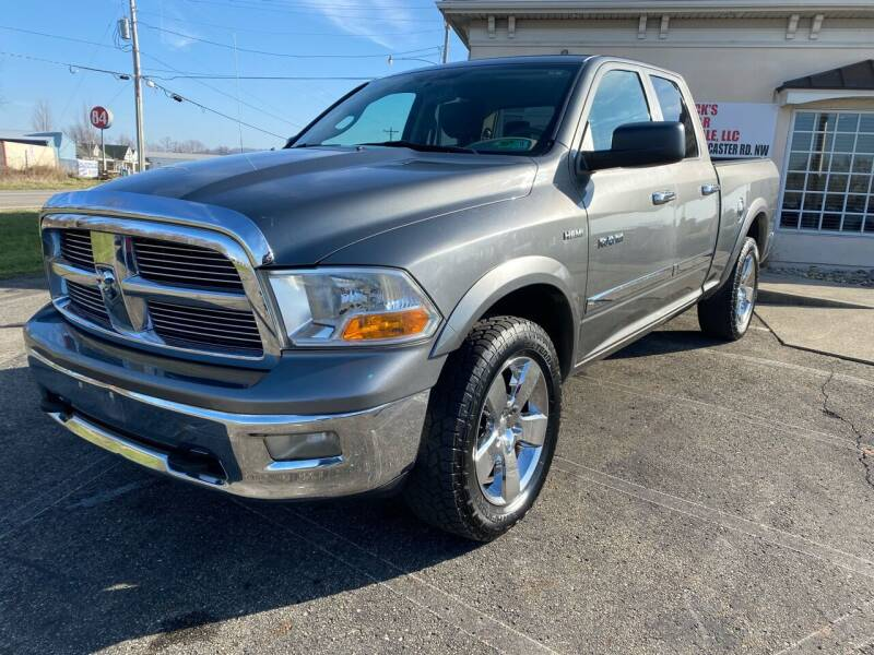 2010 Dodge Ram Pickup 1500 for sale at Rick's R & R Wholesale, LLC in Lancaster OH