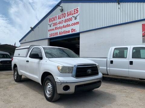 2010 Toyota Tundra for sale at Ricky Auto Sales in Houston TX