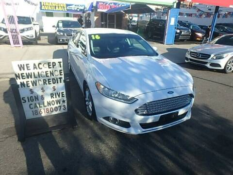 2016 Ford Fusion for sale at 4530 Tip Top Car Dealer Inc in Bronx NY