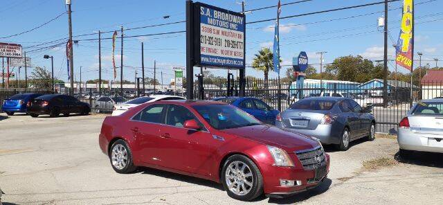 2009 Cadillac CTS for sale at S.A. BROADWAY MOTORS INC in San Antonio TX