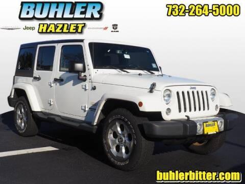 2015 Jeep Wrangler Unlimited for sale at Buhler and Bitter Chrysler Jeep in Hazlet NJ