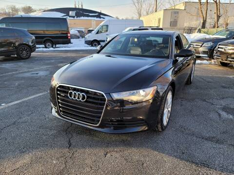 2014 Audi A6 for sale at AW Auto & Truck Wholesalers  Inc. in Hasbrouck Heights NJ