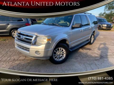 2011 Ford Expedition EL for sale at Atlanta United Motors in Jefferson GA