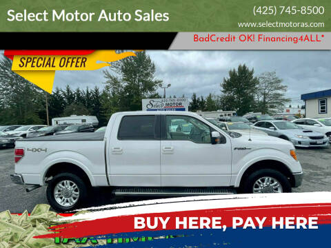 2011 Ford F-150 for sale at Select Motor Auto Sales in Lynnwood WA