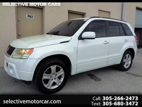 2008 Suzuki Grand Vitara for sale at Selective Motor Cars in Miami FL