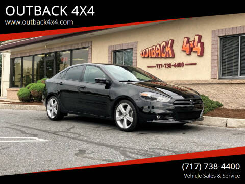 2015 Dodge Dart for sale at OUTBACK 4X4 in Ephrata PA