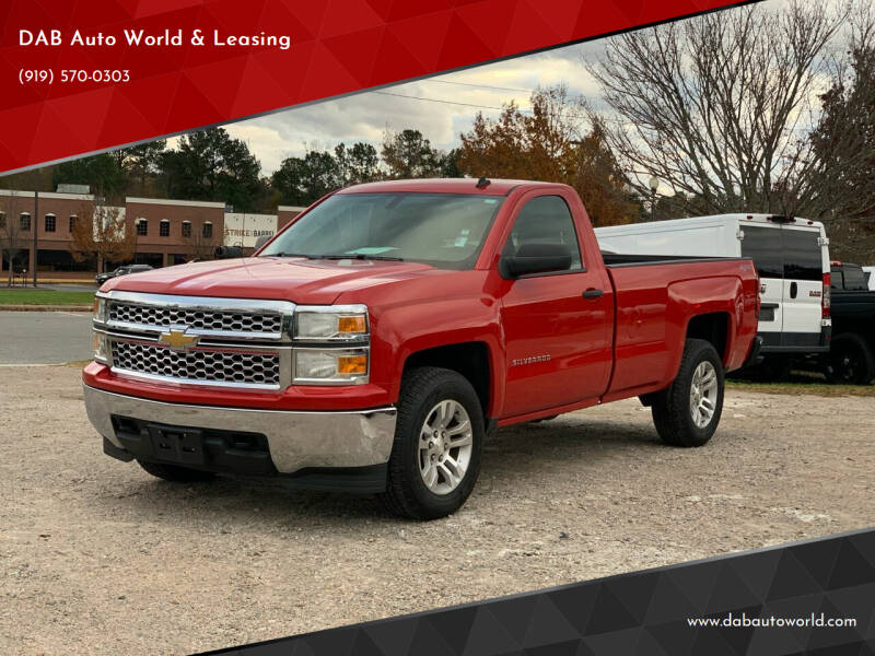 2014 Chevrolet Silverado 1500 for sale at DAB Auto World & Leasing in Wake Forest NC
