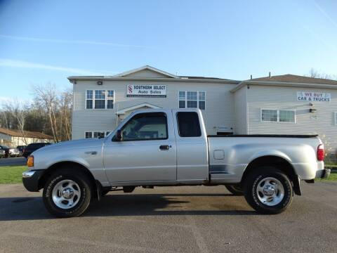 2002 Ford Ranger for sale at SOUTHERN SELECT AUTO SALES in Medina OH