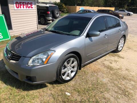 2008 Nissan Maxima for sale at Hwy 80 Auto Sales in Savannah GA