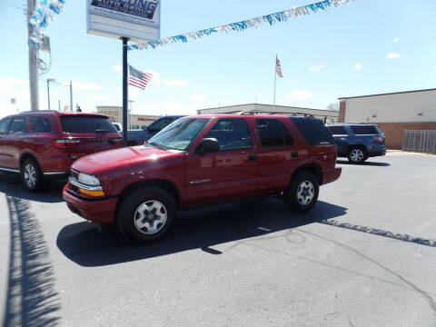 2002 Chevrolet Blazer for sale at DeLong Auto Group in Tipton IN