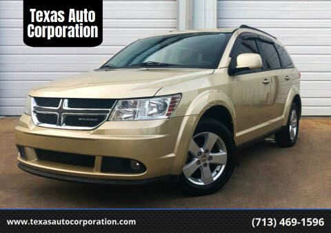 2011 Dodge Journey for sale at Texas Auto Corporation in Houston TX