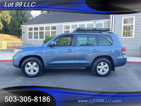 2008 Toyota Land Cruiser for sale at LOT 99 LLC in Milwaukie OR