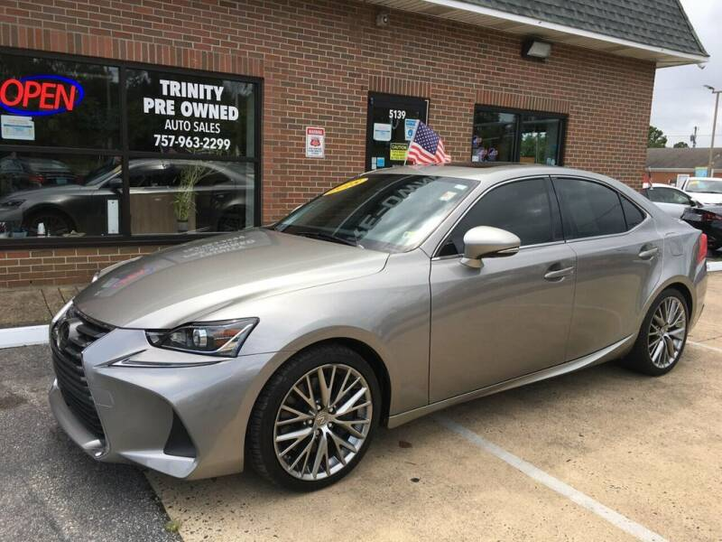 2018 Lexus IS 300 for sale at Bankruptcy Car Financing in Norfolk VA