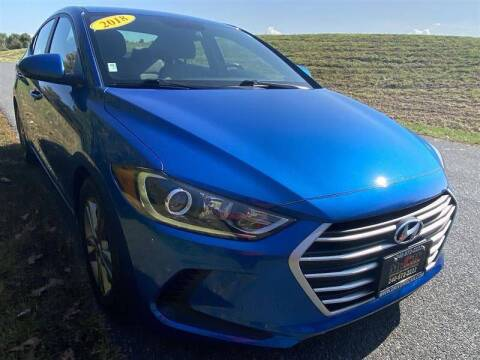 2018 Hyundai Elantra for sale at Mr. Car City in Brentwood MD