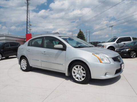 2011 Nissan Sentra for sale at SIMOTES MOTORS in Minooka IL